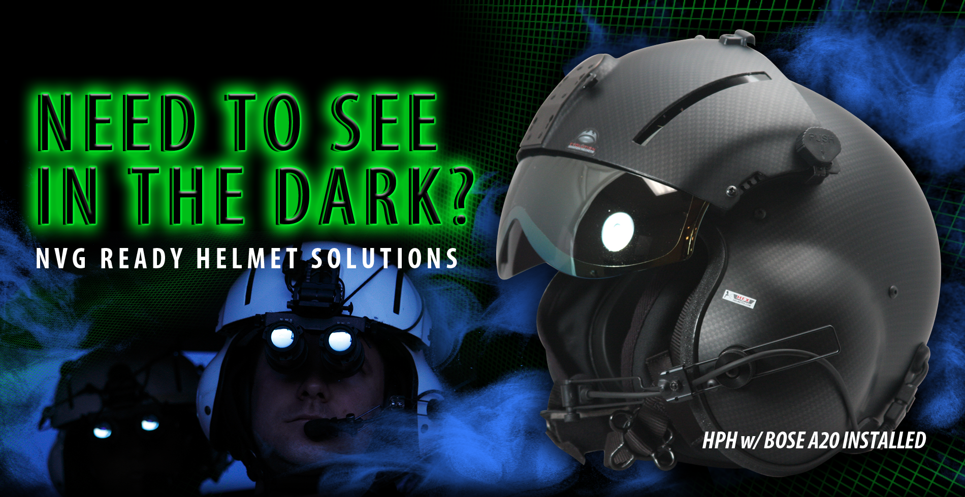 Helicopter Helmets | Helicopter Helmet Sales and Repairs