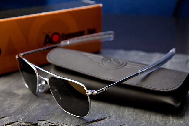 All lenses will come with AO Eyewear s True Color® Grey Glass lens. You  simply choose the size (either 52mm f4daec682ae