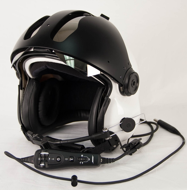 Evolution 152 Helicopter Helmet With Bose A20