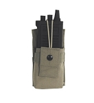 Black hawk Open Top Radio Pouch (Black)