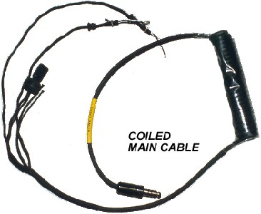 Alpha Eagle Main Comm Cord - No Volume Control