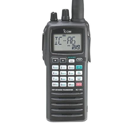 ICOM A-6 Portable Radio for Aviation