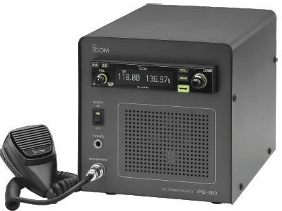 ICOM PS-80 Base Station VHF Air Band Transceiver