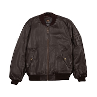 Leather MA-1 Flight Jacket