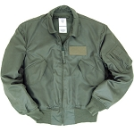 MIL-SPEC SAGE GREEN NOMEX CWU 45/P Flight Jacket