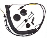 MSA Gallet High Impedance Helicopter Comm Set / with Volume Control