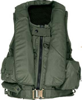 Aircraft Life Preserver Survival Vest: Mustang MSV971