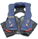 Switlik HV-35C X-Back Air Crew Vest W/Reflective Panel and Grab Handle