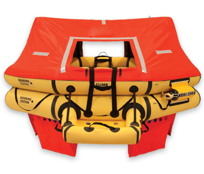 T11AS 11 Man VIP Series Life Raft