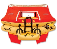 T14AS 14 Man VIP Series Life Raft