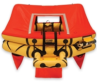 T7AS 7 Man VIP Series Life Raft