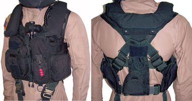 Tac Air G2 Survival Vest with Hoist Strap,  Harness & Single Bladder Life Vest