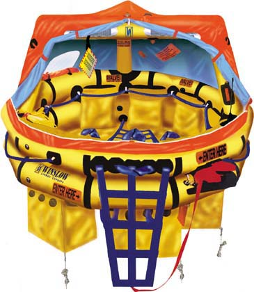 Winslow FAA Approved Part 91/121  (6 to 9 man) Life Raft Rental