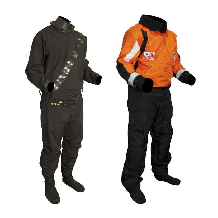 Sentinel™ Series USCG Heavy Duty Boat Crew Dry Suit (Rubber Seals)