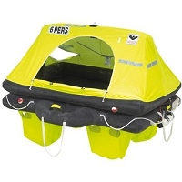 Viking RescYou™  6 Person Twin Cell Viking Raft