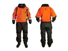 SENTINEL SERIES HEAVY DUTY BOAT RESCUE DRY SUIT WITH DROP SEAT