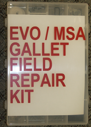 EVO HELMET FIELD REPAIR KIT
