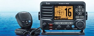 ICOM M506 Fixed VHF Radio, NMEA 2000 with AIS Receiver