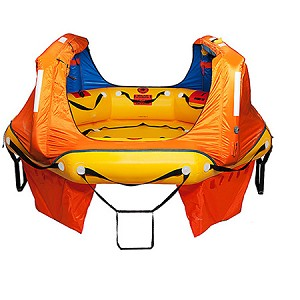 Switlik Coastal Passage Raft - Hard Pack