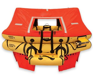 T10AS 10 Man VIP Series Life Raft