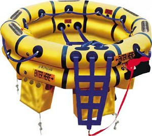 Winslow 9-13 Person Super-Light DualSafe Life Raft